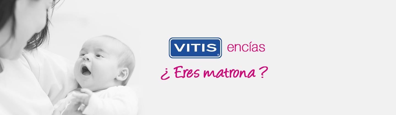 Rellena el formulario para recibir muestras de VITIS encías