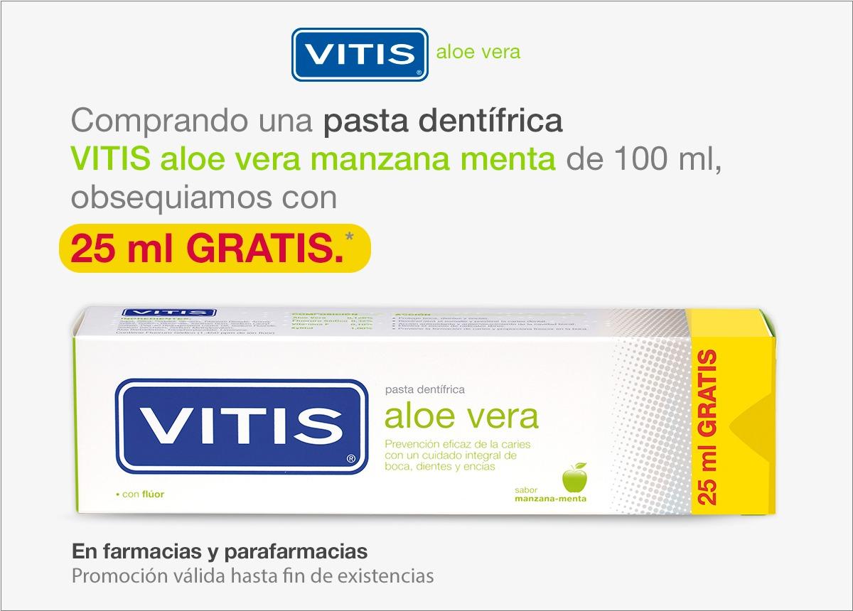Promoción Pasta De Dientes VITIS Aloe Vera