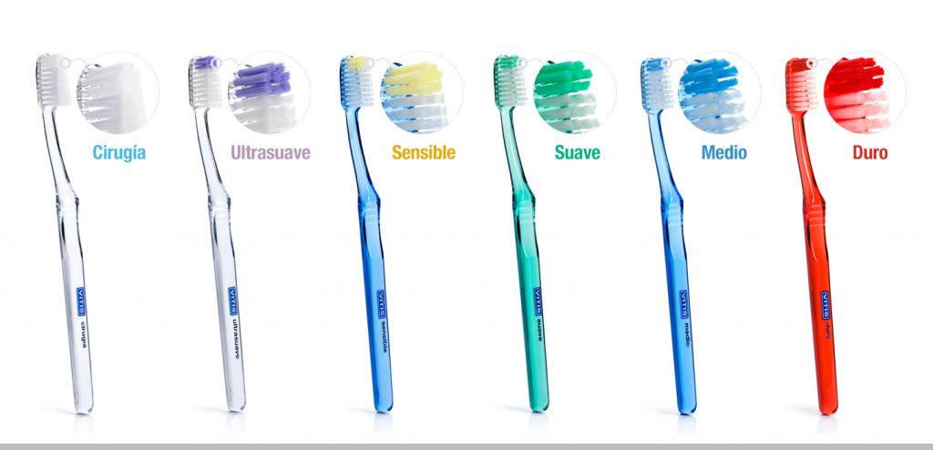 Dureza de los filamentos de los cepillos VITIS