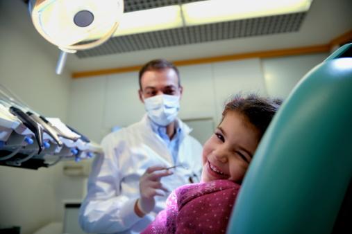 Niños Y Dentista